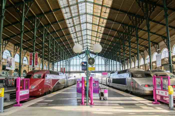 You can take the train to paris if you want to visit in the spring