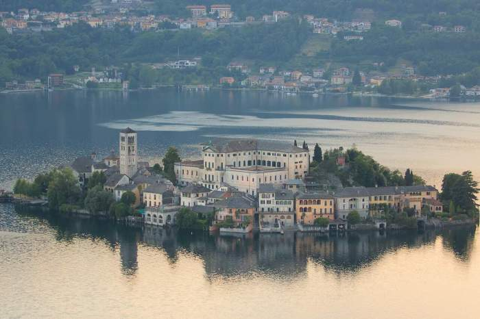 Lake Orta is one of Italy's most romantic honeymoon destinations