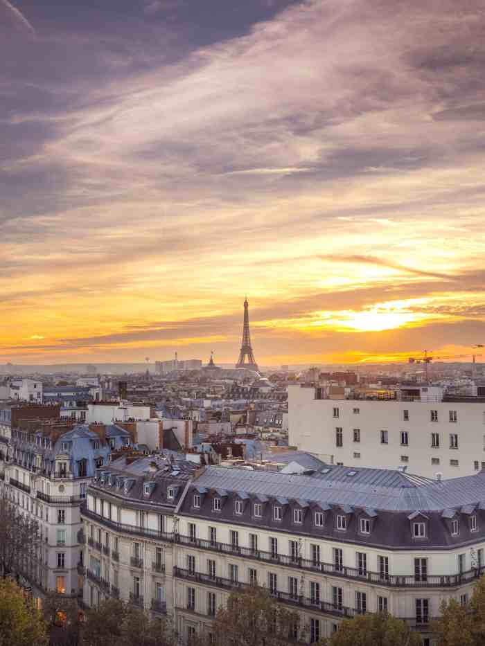 Printemps Department Store Offers One Of The Most Underrated Sunset Views In Paris