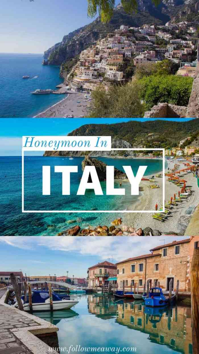 How to plan the perfect honeymoon in Italy | Tips for planning your honeymoon in Italy and Europe | European honeymoon travel tips | Italy itinerary travel locations | best things to do in Italy