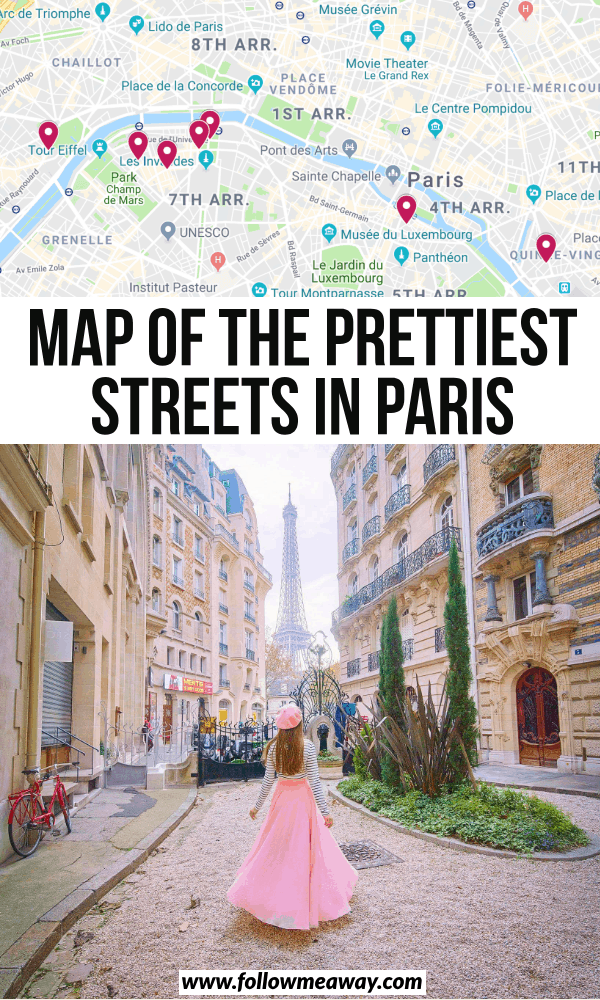 prettiest streets in paris