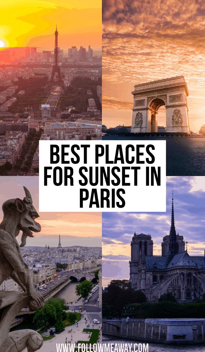 Best places for sunset in Paris | how to see the sunset in Paris | paris sunset tips | best hidden gems in Paris | Paris travel tips | what to do in Paris
