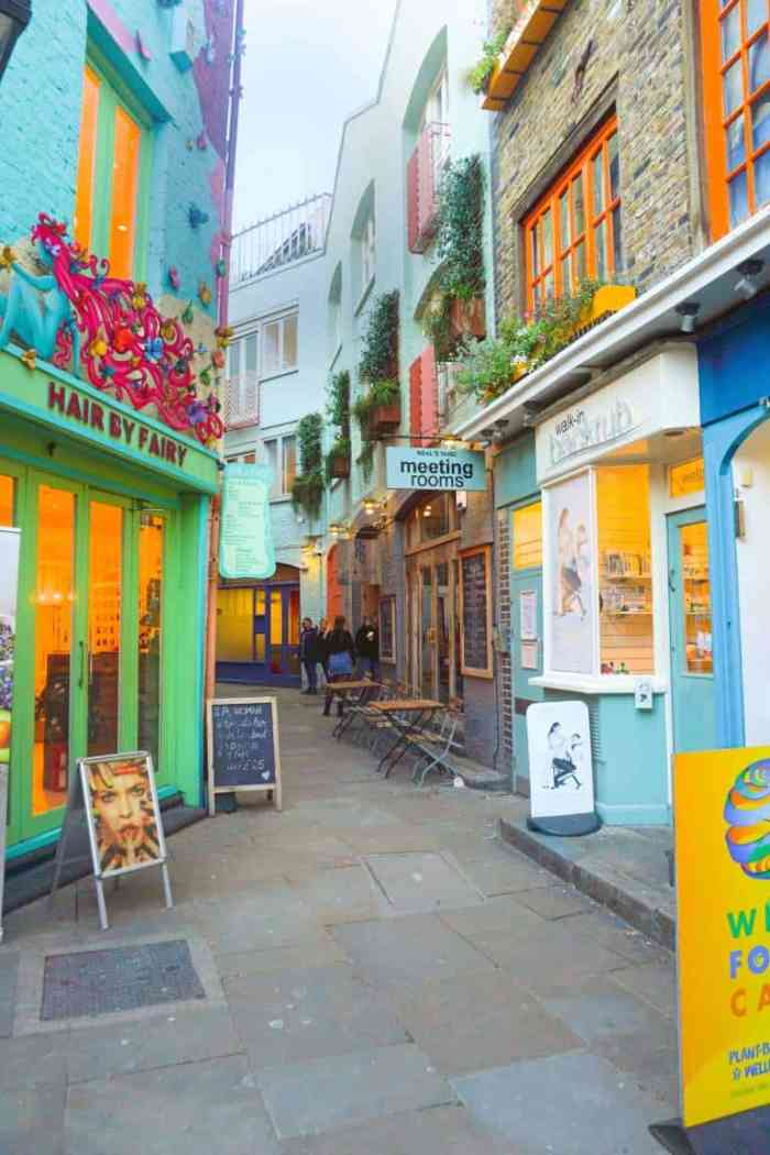 Neal's Yard is one of the most underrated London photography spots | hidden gems in London