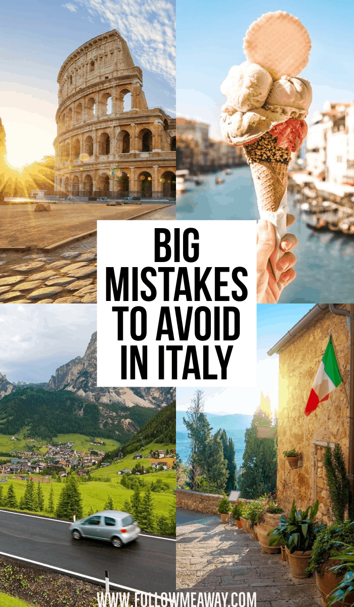 Big Mistakes To Avoid In Italy | How to travel Italy like a pro | tips for planning a trip to Italy | how to plan your italy itinerary on your first trip | Italian travel tips | best things to do in Italy