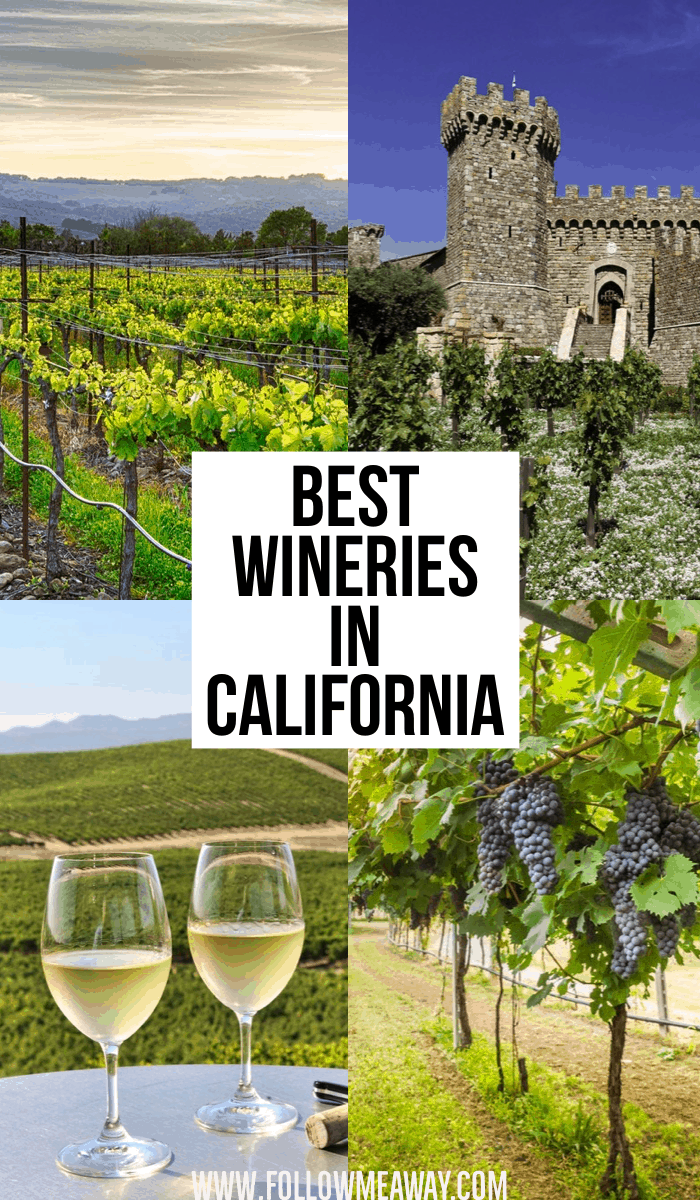 Best Wineries In California | California travel tips | California wine country itinerary | best things to do in California | Napa and sonoma valley in California | tips for visiting wineries in california near San Francisco