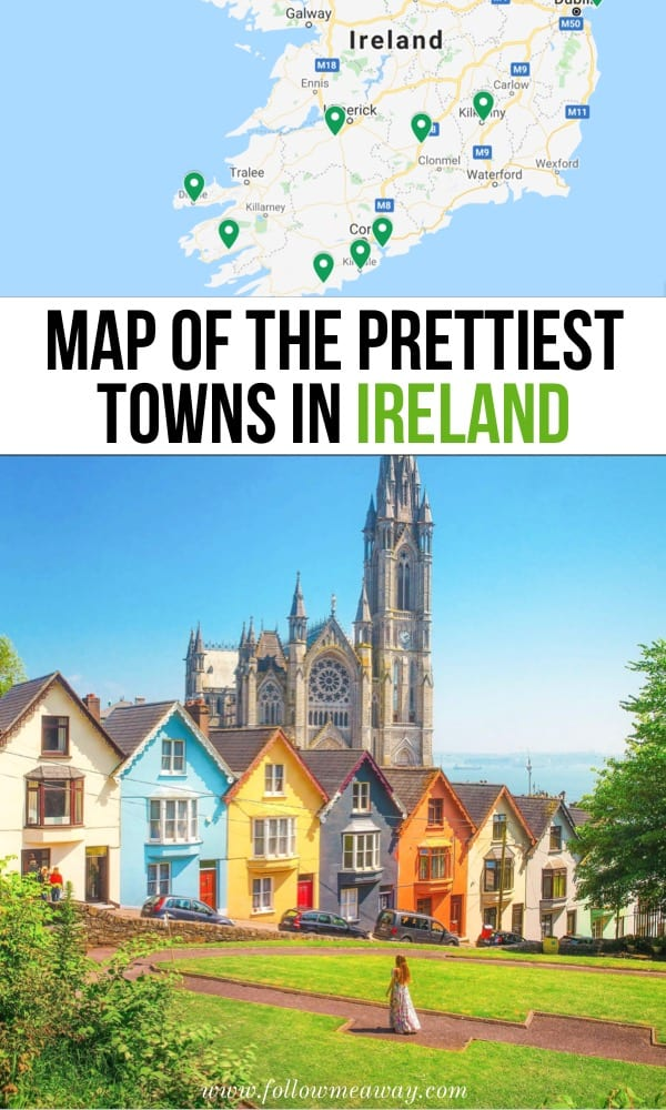 Map Of Ireland With Towns.10 Prettiest Small Towns In Ireland Map To Find Them Follow Me Away