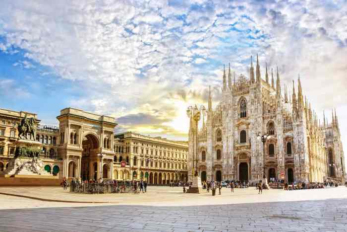 Milan Is The Shopping Hub For Not Just Northern Italy, But The Entire World