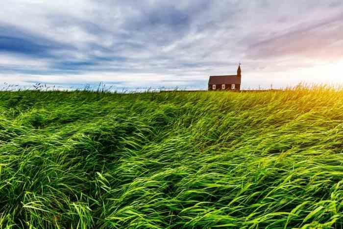 Prettiest Churches In Iceland   Budir Black Church Iceland