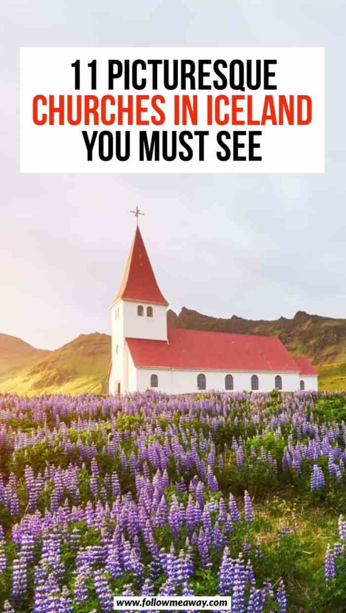 11 Prettiest Churches In Iceland + Map To Find Them   Picturesque churches in Iceland   best things to see in Iceland   what to see in Iceland   Iceland travel tips   Vik Iceland church