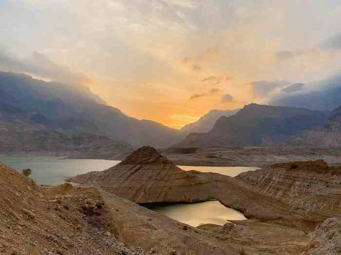 Watch The Sunset OverWadi Dayqah Dam for one of the best places to visit in Oman