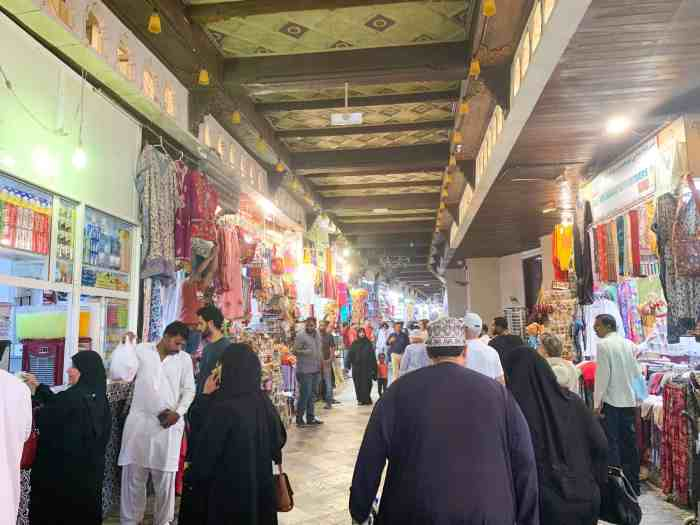 Go Shopping At Mutrah Souq In Muscat