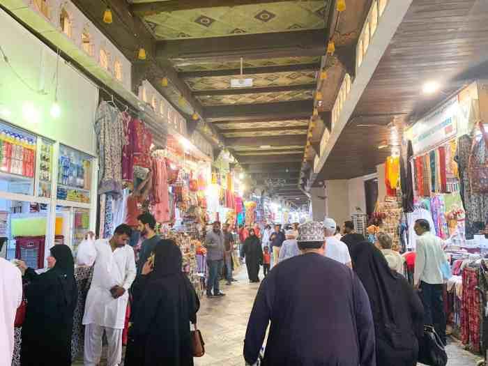 Go Shopping AtMutrah Souq In Muscat