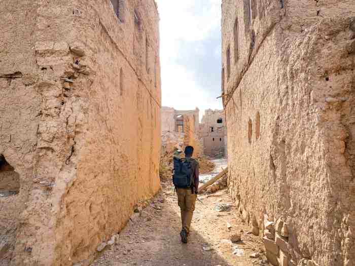 Step Back In Time At The Abandoned Al Hamra Ruins for one of the best places to visit in Oman