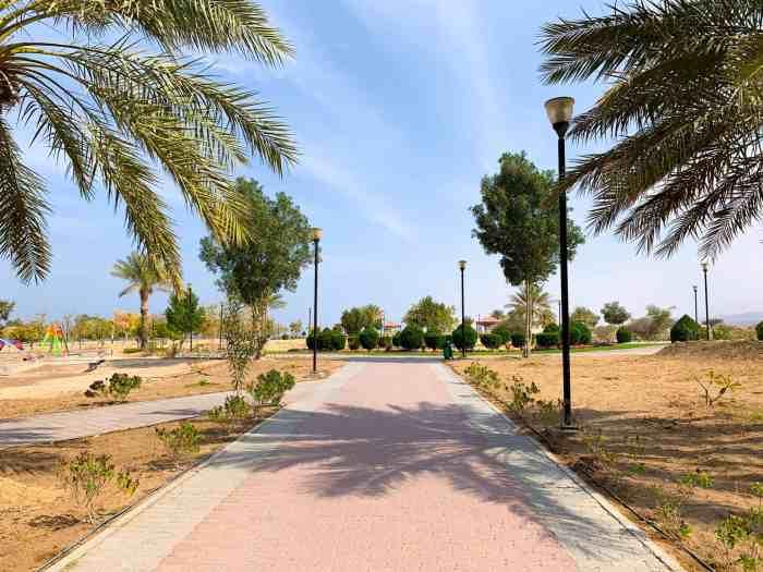 The grounds at Bimmah Sinkhole