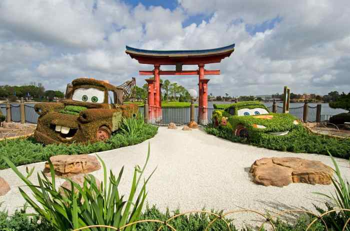 Visit the Japan part of Epcot when planning a trip to Disney
