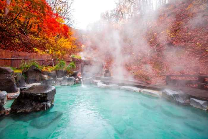 Visit A Japanese Onsen when planning a trip to Japan