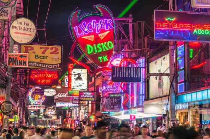 Stay away from sex shows of any kind when planning a trip to Thailand