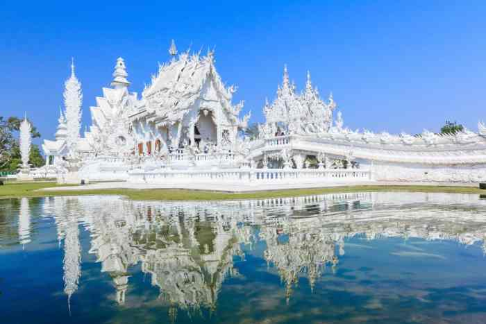 Don't forget to visit the White Temple when planning a trip to Thailand