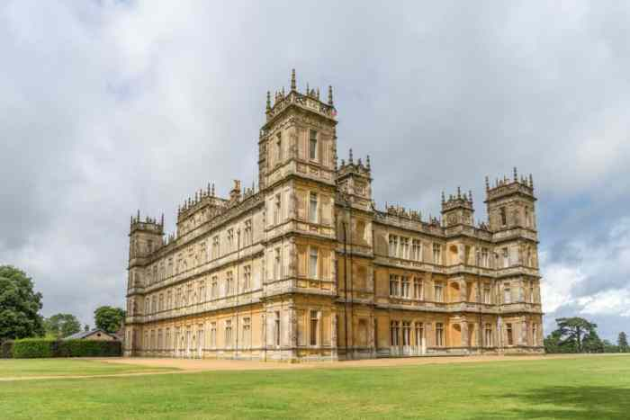 Highclere Castle is where they filmed Downton Abbey