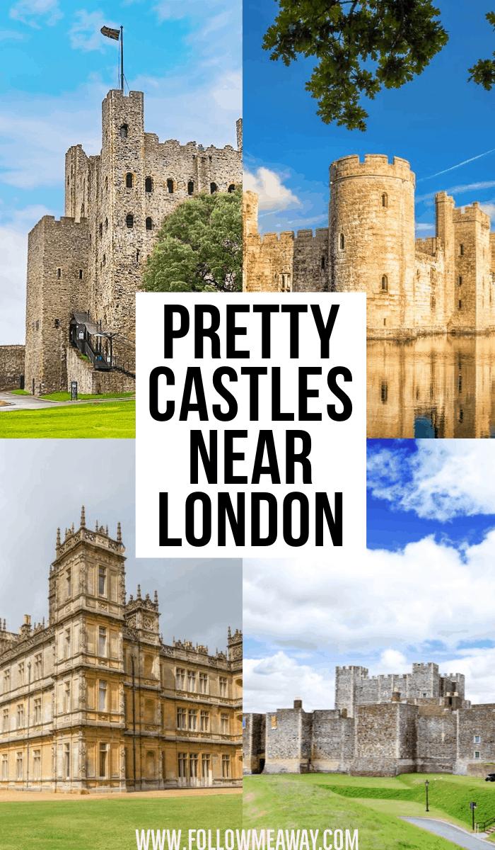 pretty castles near london
