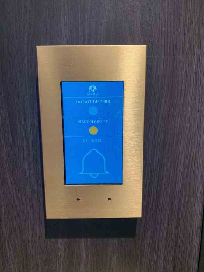 doorbell on crystal river cruises