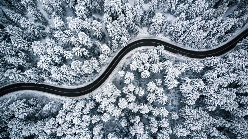 be safe when driving on winter roads
