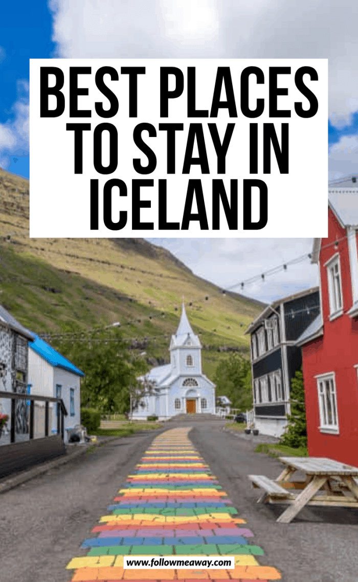 best places to stay in iceland