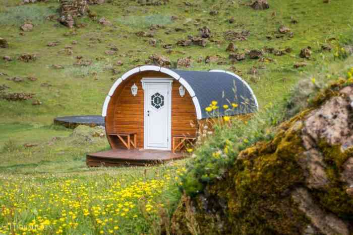 Glamping and Camping is where to stay in Iceland in Vestmannaeyjar