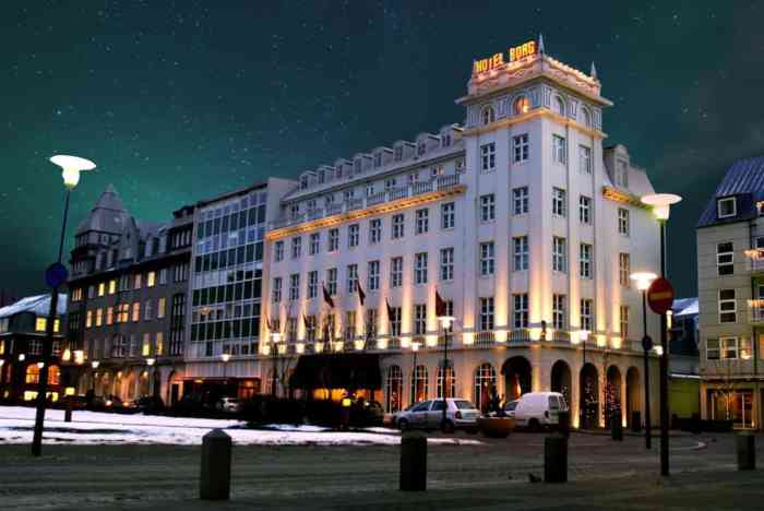 Hotel Borg is where to stay in Iceland in Reykjavik