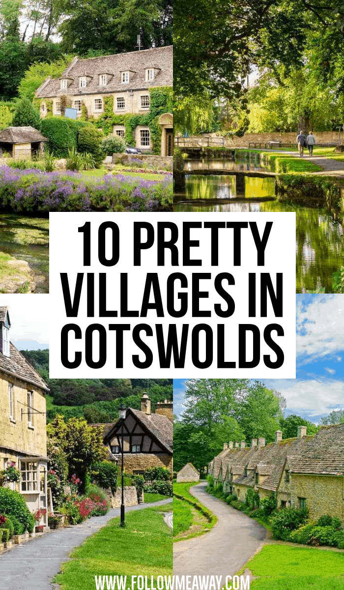 10 pretty villages in cotswold