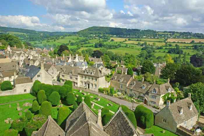 Painswick is lush and green and a true storybook village!