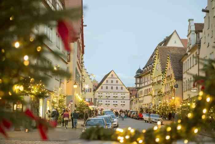 christmas markets in germany rothenburg market