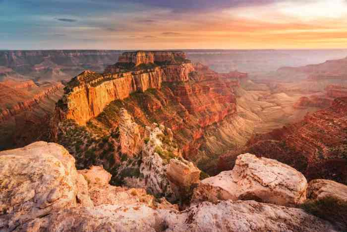 leave the crowds by tackling one of the North Rim Grand Canyon hikes
