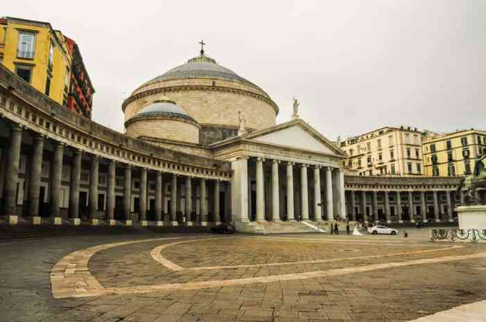 Begin your 2 weeks in Italy by flying into Naples