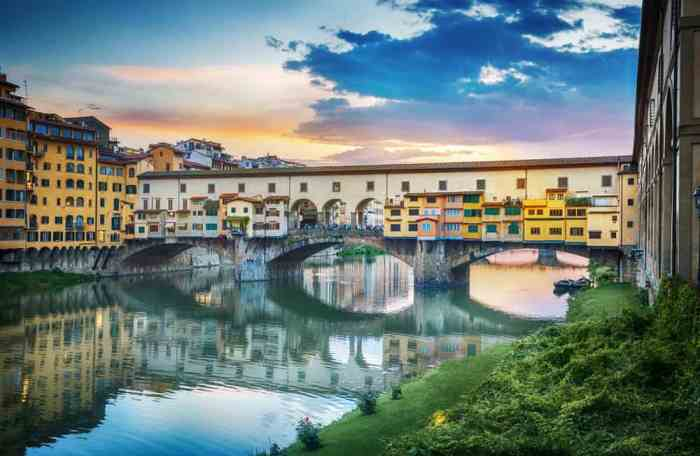 Walk across this famous bridge while in Florence
