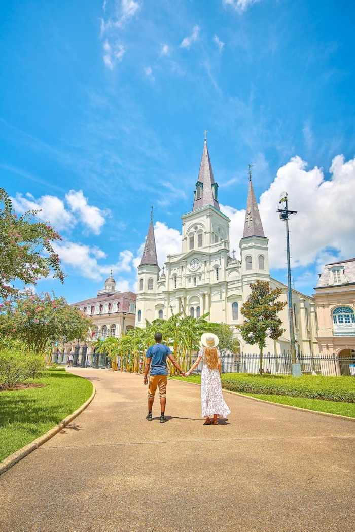 Saint Louis Cathedral in New Orleans