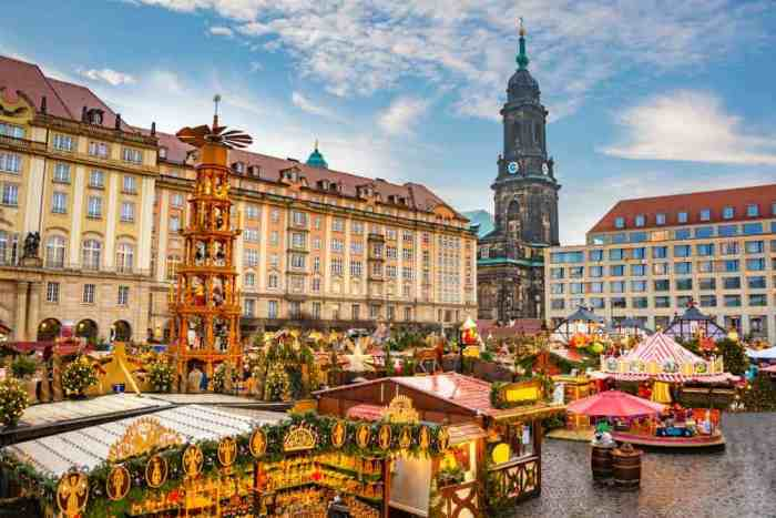 The Dresden Christmas market is one of the oldest Christmas markets in Europe