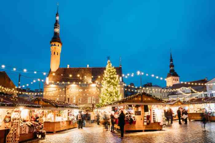 Tallinn Christmas market is one of the best Christmas markets in Europe