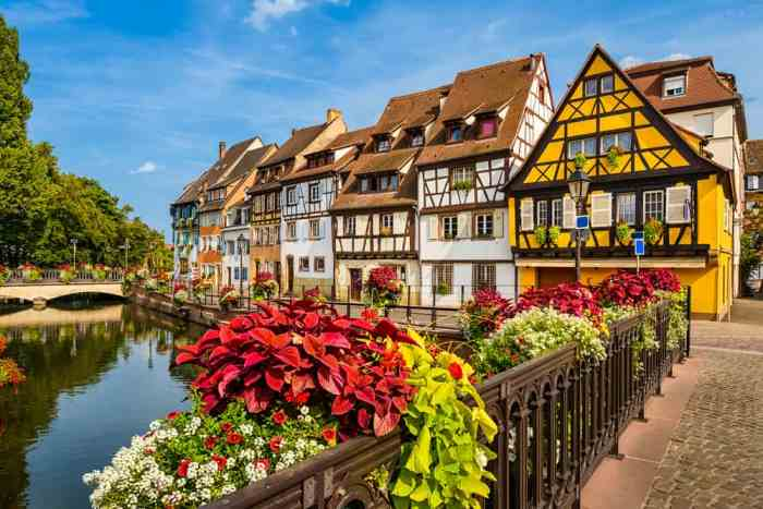 The charming town of Colmar, stop 8 on your France road trip