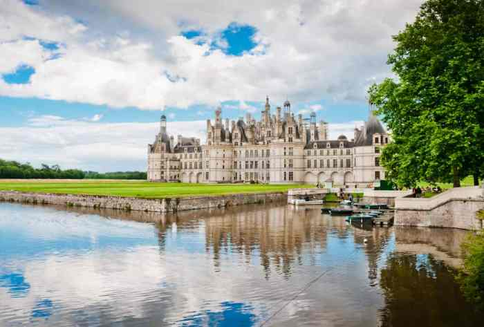 Chateau de Chambord in Loire Valley, stop 3 on your France road trip