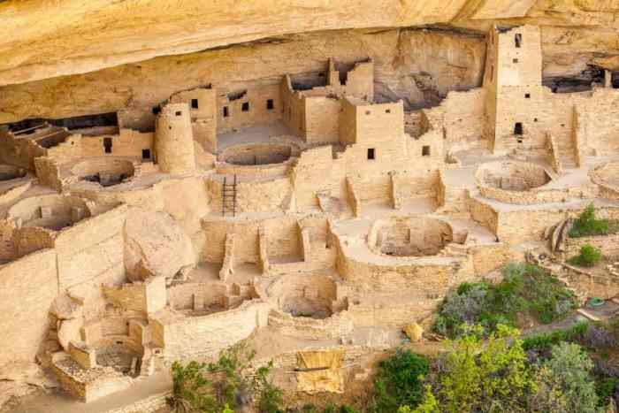 see the Ancestral Pueblo people's ruins at Mesa Verde National Park on your Colorado road trip