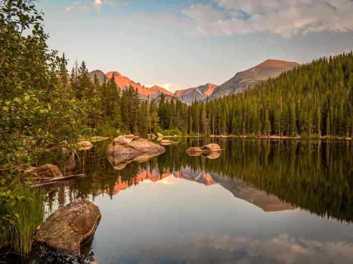 explore Bear Lake at Rocky Mountain National Park on your Colorado road trip
