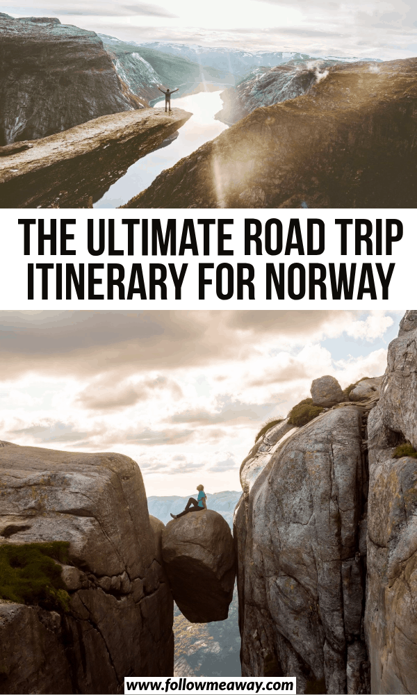 the ultimate road trip itinerary for norway