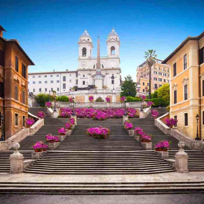 Spanish Steps 4 days in Rome