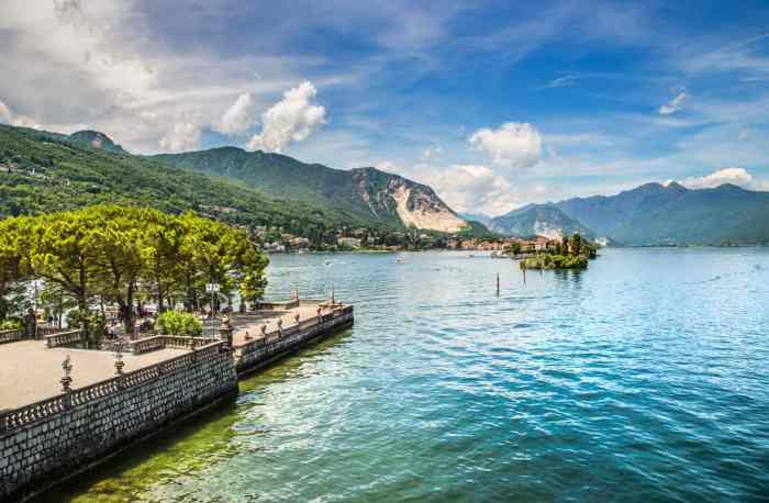 One of the more touristy lakes in Italy, Lake Maggiore