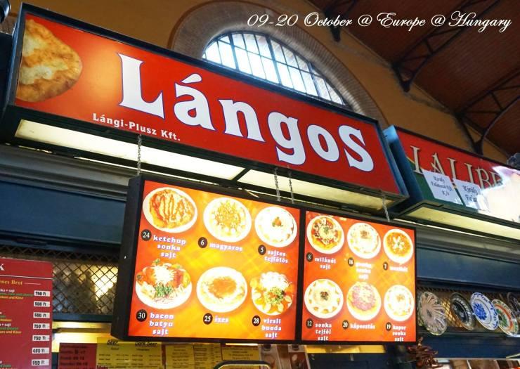 匈牙利必吃美食Lángos|推薦中央市場|匈牙利披薩