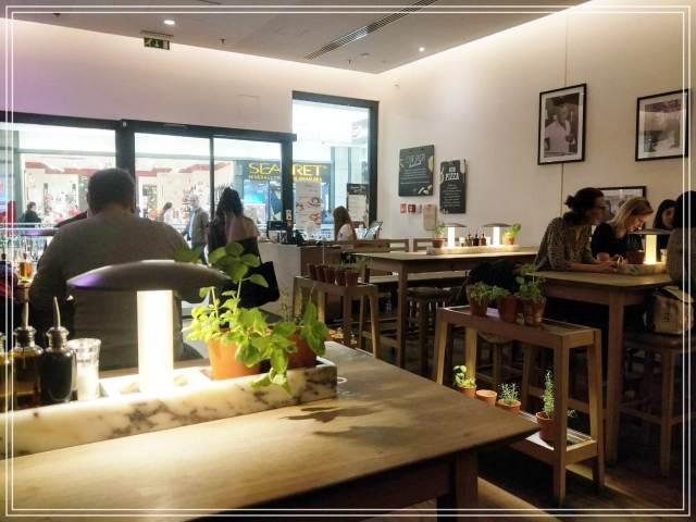 點餐程序很特別的vapiano義式餐廳|(Westend百貨公司分店)