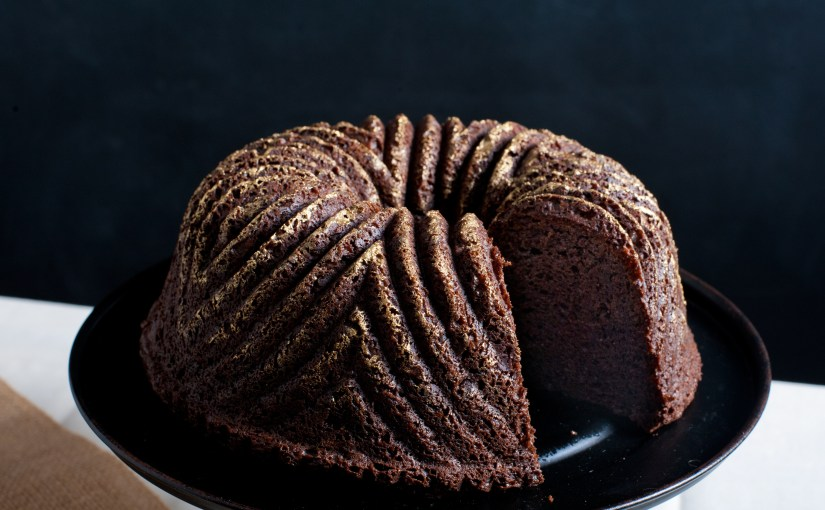 Bourbon Chocolate Cake