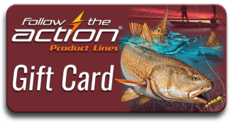 Follow the Action Redfish Gift Card