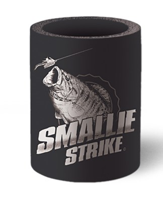 Follow the Action Smallmouth Bass Koozie Can Cooler